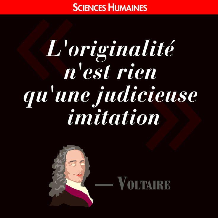 Citation de la semaine ! http://www.scienceshumaines.com/