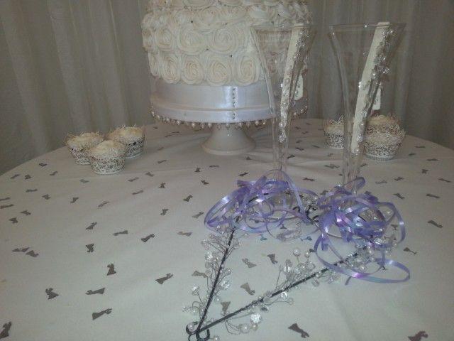 #Ivory and #White #Wedding #Cake; Bespoke, Beautiful, Luxury, Romantic Rose Swirl, Design;