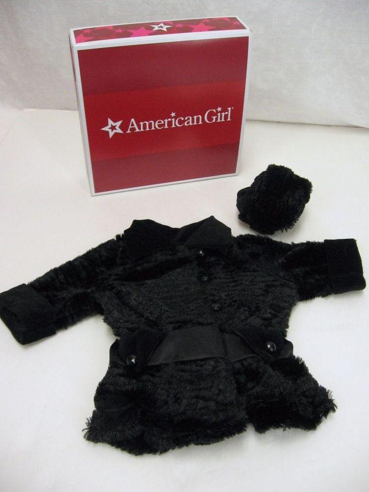 American Girl Rebecca Winter Coat Muff  #AmericanGirl #ClothingShoes