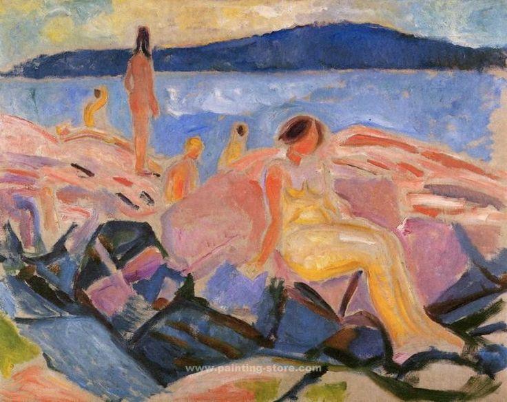 High Summer - Edvard Munch 1913-16