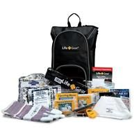 Day Pack Emergency Survival Kit w/ Emergency Gear & First Aid Kit