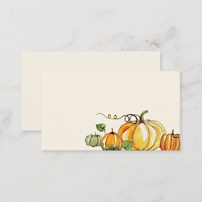 thank u note gift card giving 2 sizes 5 each HalloweenFall gift envelopes invtation hand made