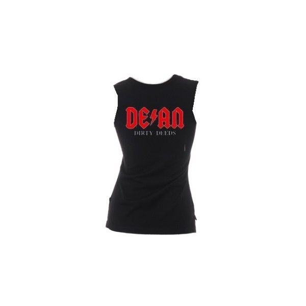Dean Ambrose Shirt ❤ liked on Polyvore featuring tops