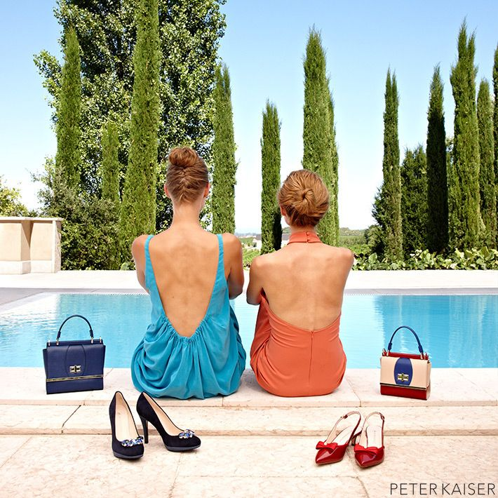 eine Welt voller Farben – Pumps von Peter Kaiser #PeterKaiser #Damenschuhe #Pumps #Accessoires #Handtasche