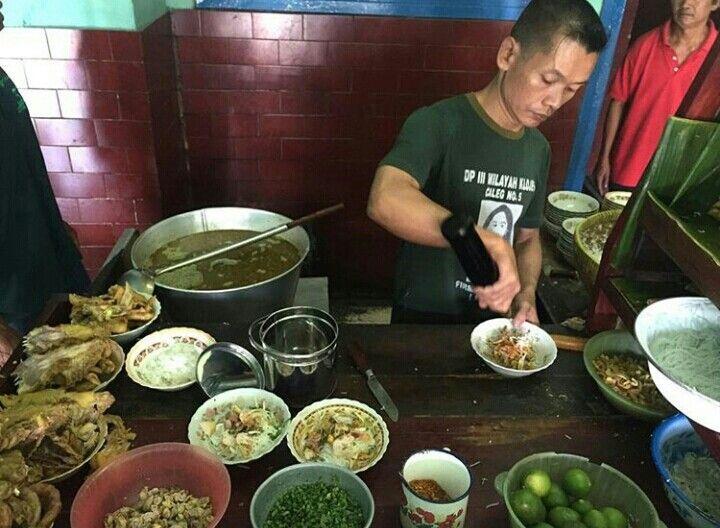 Soto ayam lamongan,  oro oro ombo Yogjakarta