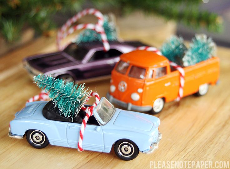 DIY: Christmas Car Ornaments                                                                                                                                                                                 More