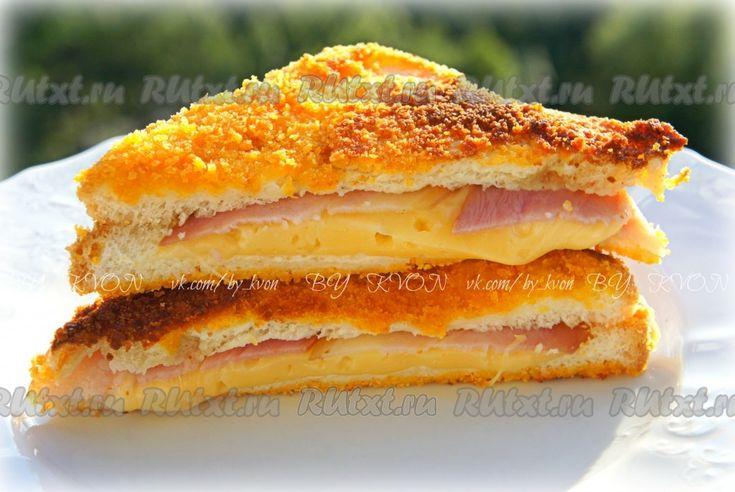 Как приготовить горячие бутерброды на сковороде