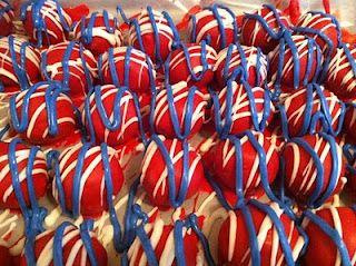 Oreo Balls, Patriot Style! A sweet 4th of July Idea
