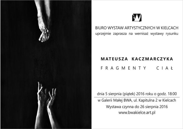 Zaproszenie-Mateusz Kaczmarczyk-Frgmenty ciał