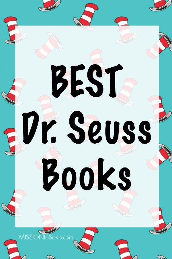 There's no doubt, Dr. Seuss is one of the most beloved children's authors of all times. Check out this big list of some of the very best Dr. Seuss Books and collections.