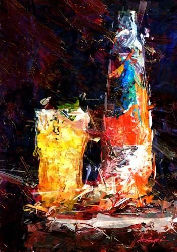 """YELLOW ICE"" #Creative #Art in #digital-art @Touchtalent"