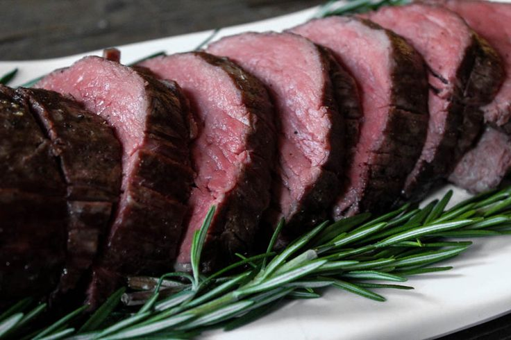 Slow Roasted Beef Tenderloin With Rosemary Recipe Ina
