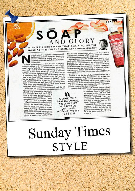 Dr. Bronners Sunday Times Style | wholefoods.ie