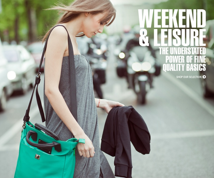Hey there fashionistas! Check out our brand new campaign - Weekend & Leisure specially created for this lovely wather!