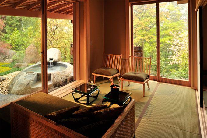 Kanagawa - Gora Kadan - room - Japan & Luxury Travel Advisor – luxurytraveltojapan.com - #Luxuryhotels #Hakone #Japan #Japantravel #gorakadan
