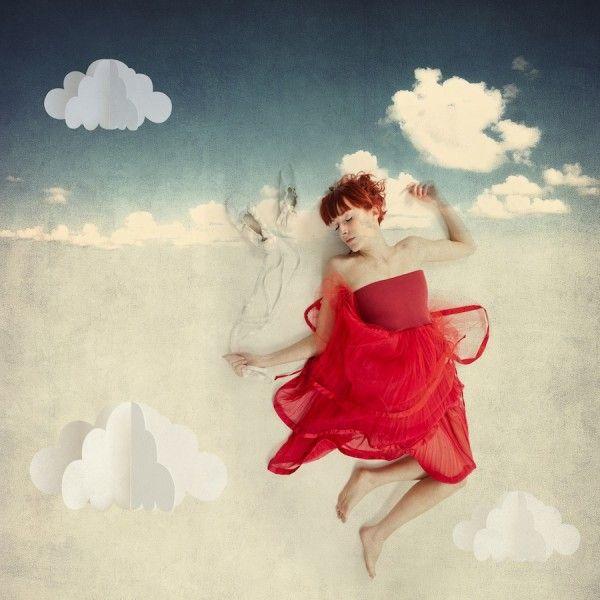 Luxusní dlouhá tylová sukně červená - Anna Janska Shop