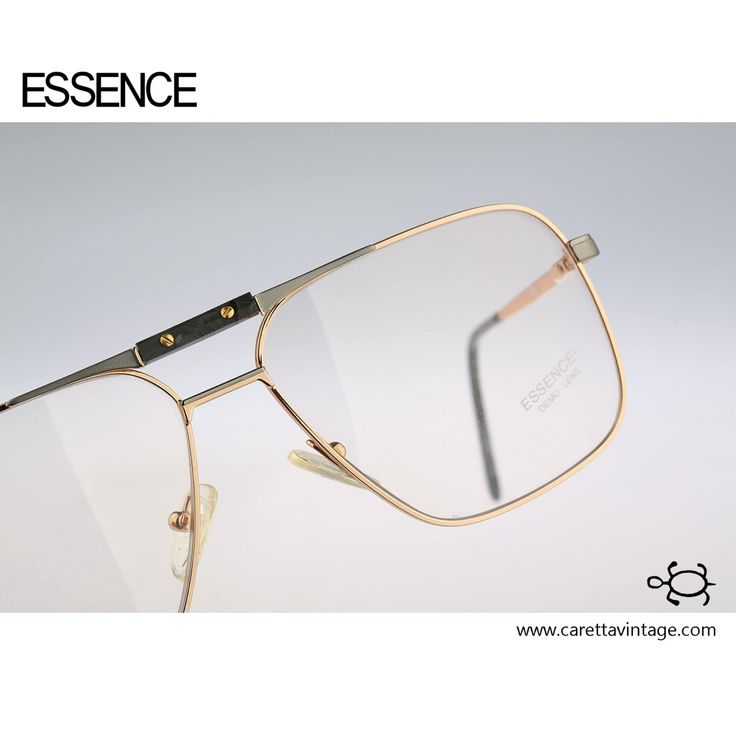 Essence 487 Grey / Vintage eyeglasses and sunglasses / NOS / 80's rare and unique