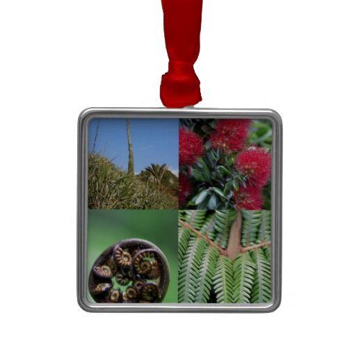 Kiwiana New Zealand native flora Ornament