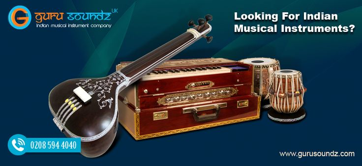 Looking For Indian Musical Instruments?