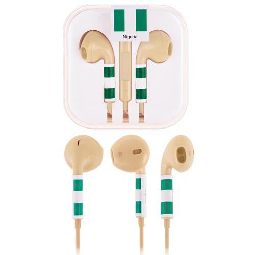 Fifa Nigerian Earphones #nigerian #worldcup #earphones #fifa #smartphone $5.53