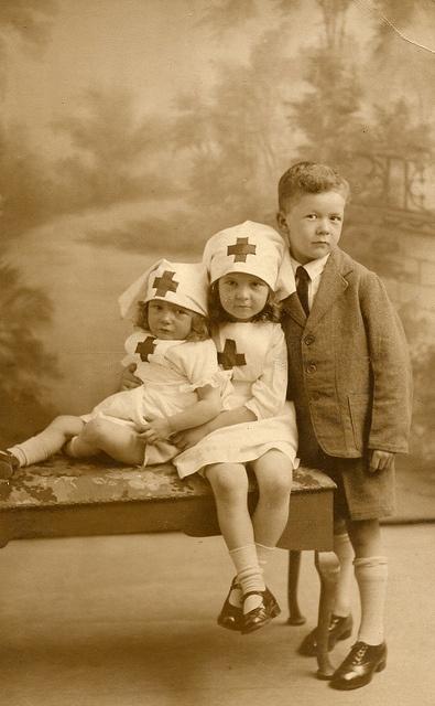 Vintage photo/ nurses