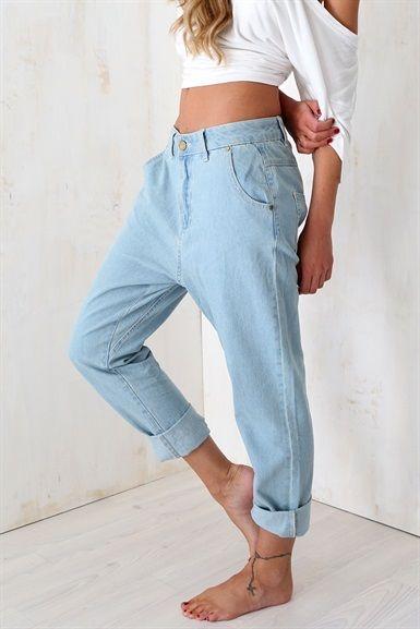 Edith Slouch Jeans   SABO SKIRT