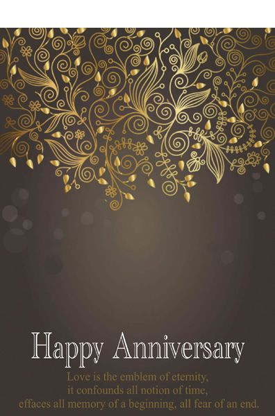 Anniversary Card Templates Printable Anniversary Cards Greeting