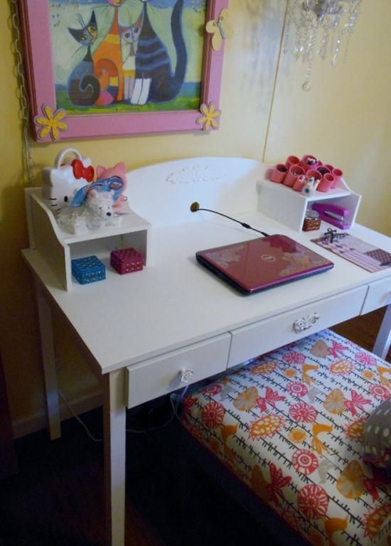 Free DIY Furniture Plans To Build A Pottery Barn Kids Inspired Madeline Desk  U0026 Hutch