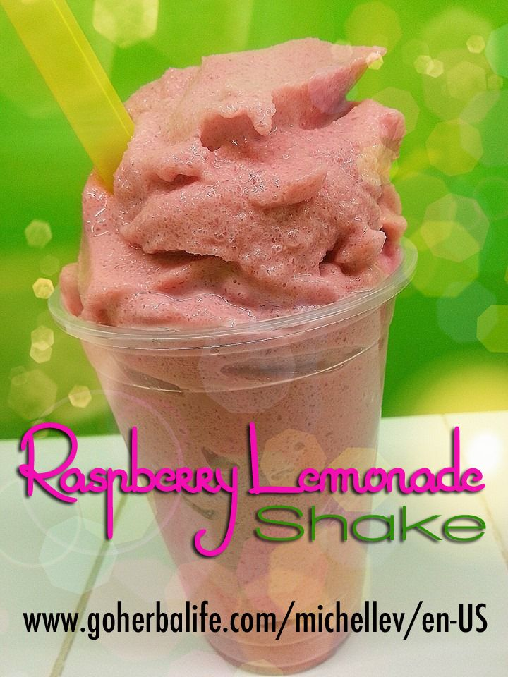 Raspberry Lemonade Shake Recipe: 16 oz cup of ice add about 12 oz of water 2 scoops Wild Berry Formula #1 2 scoops Vanilla PDM 2 scoops Lemonade H3O about 6-8 frozen raspberries More