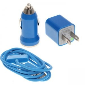 3 in 1 US-Standard-USB-Power-Car Adapter Auto Ladegerät für iPhone 44S3GS3G