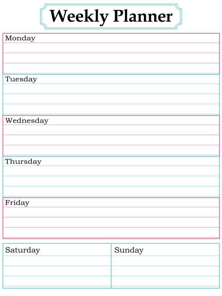 581 best Free Printables images on Pinterest Productivity, Free