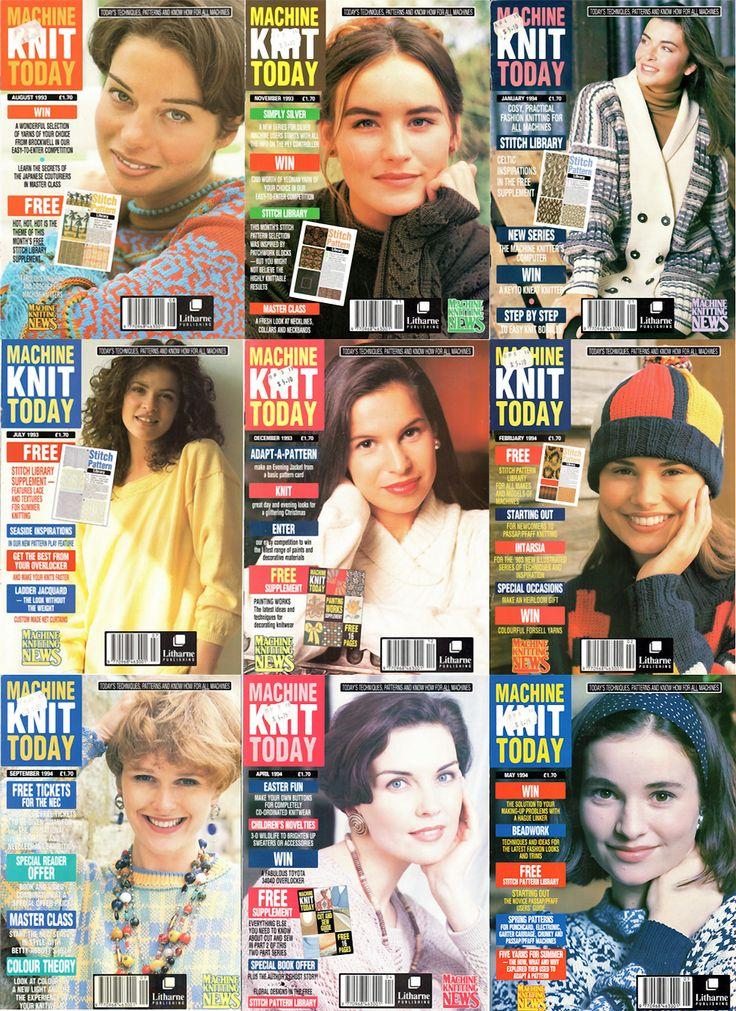 Retro Machine Knit Magazines Free PDF Downloads 300dpi ClearScan OCR