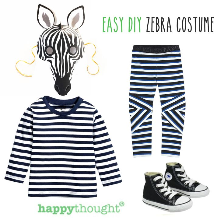 Be a Zebra in an instant! Make a fun Happythought printable Zebra mask and add some stripes. Hooray! https://happythought.co.uk/product/printable-wild-animal-masks
