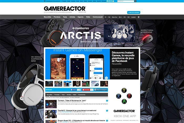 Gamez Publishing lance la version française de Gamereactor - Gamez Publishing est fier d'annoncer le lancement de Gamereactor.fr, la dixième branche de son réseau international de jeux vidéo en constante expansion depuis sa création à la fin du siècle dernier.