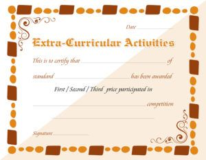 25 unique certificate templates for word ideas on pinterest extracurricular activity award certificate template for ms word download at httpcertificatesinn yadclub Image collections