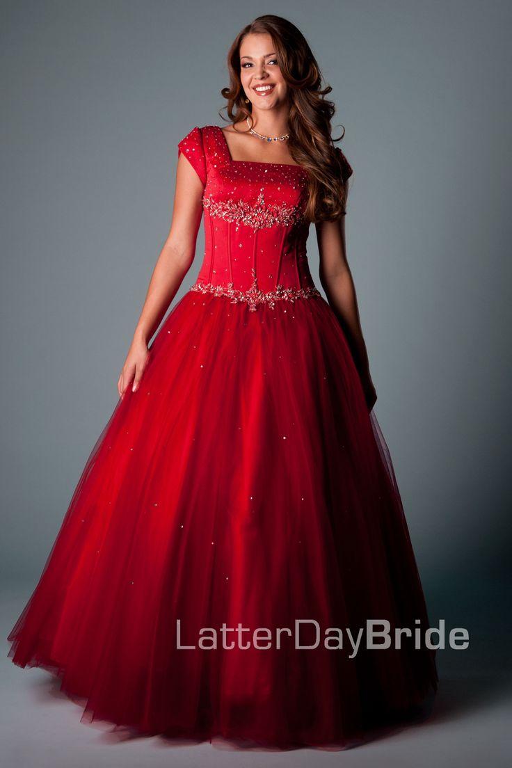 Bridesmaid & Prom, Mabrey | LatterDayBride & Prom -Modest Mormon LDS Prom Dress