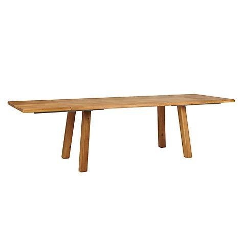 Buy John Lewis Croft Collection Glendale 8-12 Seater Extending Dining Table Online at johnlewis.com