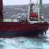 Espetacular: tripulante de navio é salvo pela Guarda Costeira da Islândia