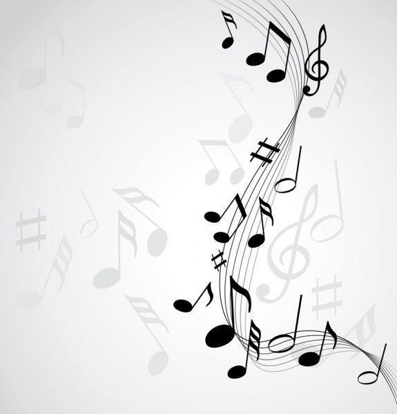 Fondo De Notas De La Musica Ilustracion De Stock Nel 2020