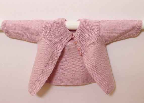 Cardigan bébé / Explications tricot en par LittleFrenchKnits