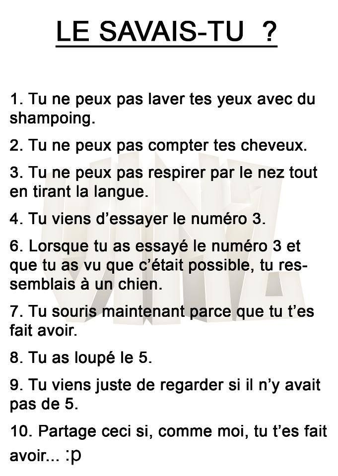 10 choses impossible à faire ! http://www.15heures.com/photos/gzLo?utm_source=SNAP #LOL