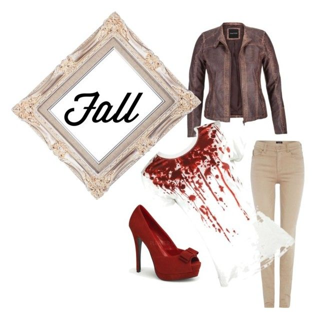 """""""Fall fashion"""" by blair1969w on Polyvore featuring moda, Armani Jeans e maurices"""