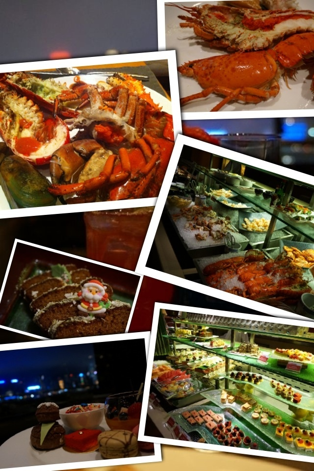 A delicious #Boston Lobster buffet with festive welcome drink and dessert    @InterConHK  Harbourside bring us an early Christmas celebration.