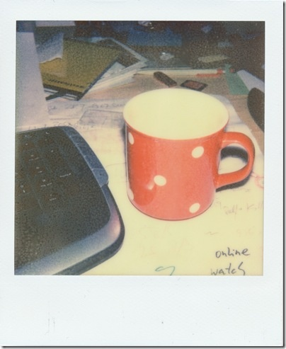 have a break    Kamera: Polaroid Land Camera - Sonar AutoFocus 5000   Film: PX 70 Color Shade by The Impossible Project