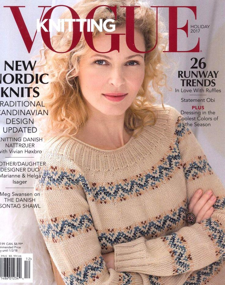 【Перепечатка】Vogue вязание каникулы 2017 - маленький Тао-Цзы журнала - блог полупроводников
