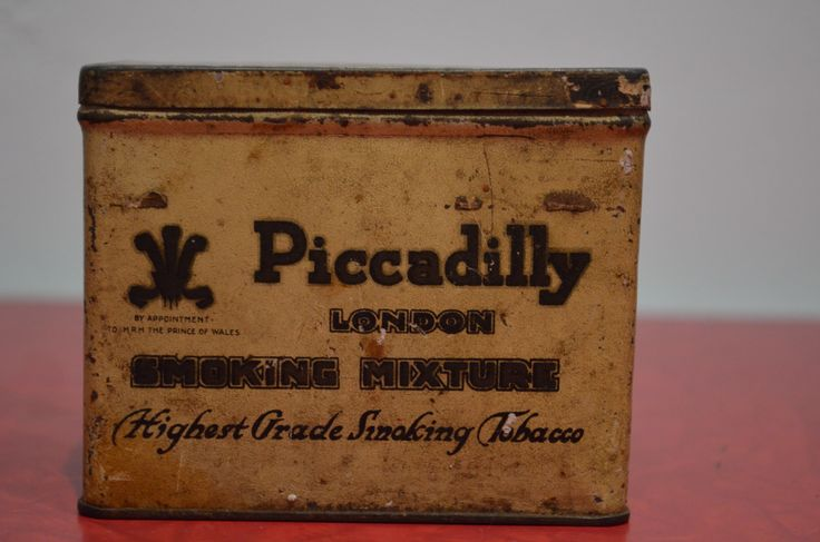 Piccadilly Tobacco Tin http://cnctbay.wix.com/crowe-s-nest