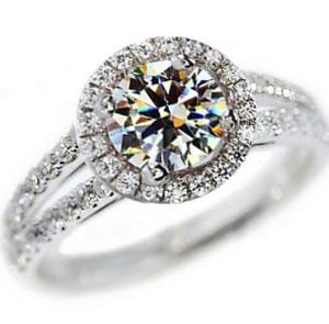 Super Sale!!! 2 00 Carat VVS1 Round Engagement Ring in 18k Gold over Silver in Jewelry Watches, Fine Jewelry, Fine Rings eBay... http://www.ebay.com/itm/251559897121?ssPageName=STRK:MESELX:IT_trksid=p3984.m1555.l2649