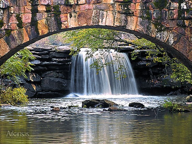 Another favorite - Petit Jean State Park in Arkansas