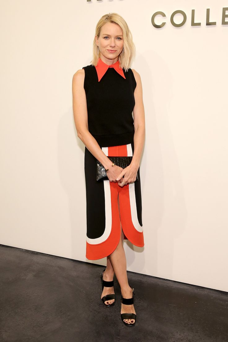 Naomi Watts à la Fashion Week de New York