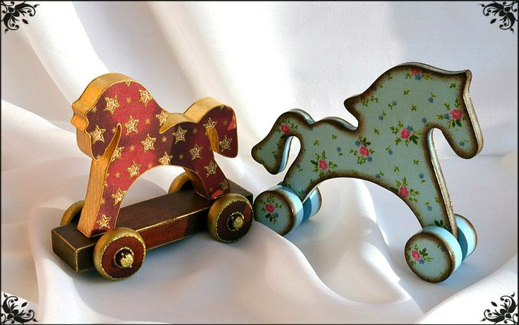 wooden horse toy DIY